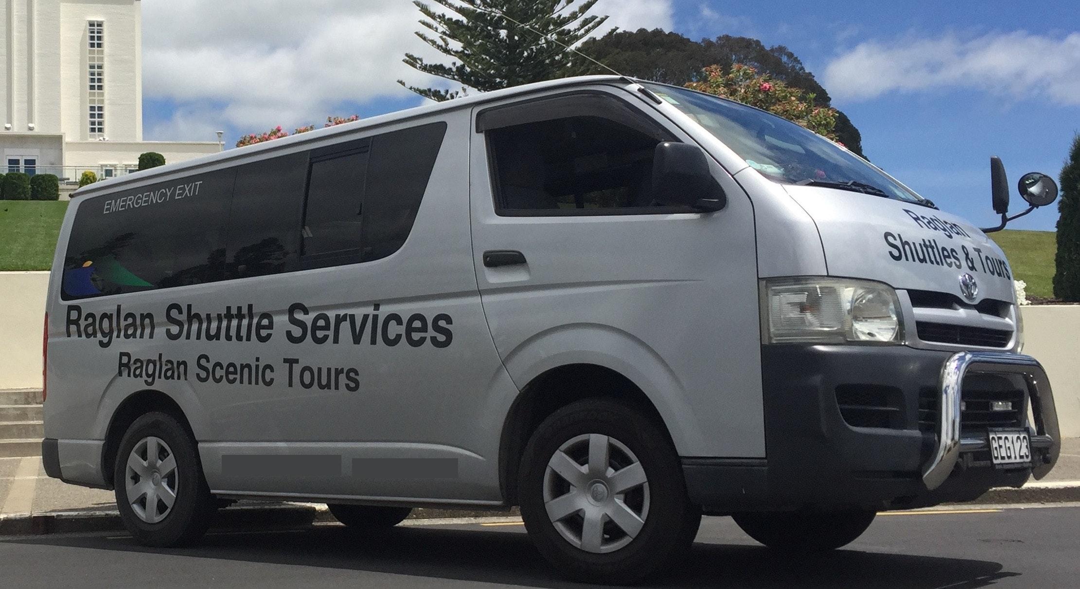 Raglan Scenic Tours & Raglan Shuttle Service
