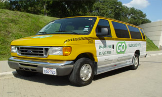 GO Yellow Checker Shuttle